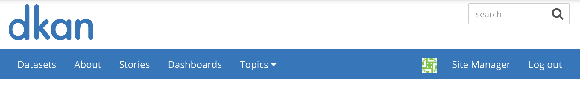 Click your username on the right side of the navigation bar in order to go to your profile page.